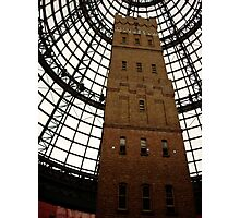 Shopping centre tower in Melbourne. Photographic Print