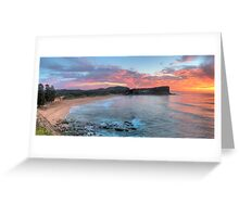 Morning Grace - Avalon Beach, Sydney (30 Exposure HDR Panorama) - The HDR  Experience Greeting Card