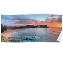 Morning Grace - Avalon Beach, Sydney (30 Exposure HDR Panorama) - The HDR  Experience Poster