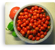 Grape Tomatoes - Moby Grape Canvas Print