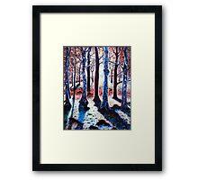 'Sunset Woods' Framed Print