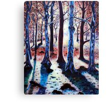 'Sunset Woods' Canvas Print