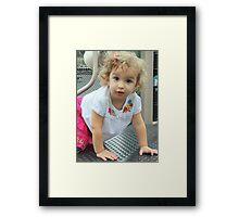 update on Isabella Framed Print