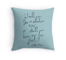 Peter Pan - Adventue Throw Pillow