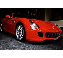 """Ferrari"" Photographic Print"