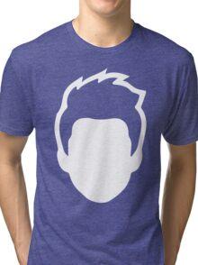 Face Silhouette! Tri-blend T-Shirt