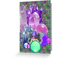 Crystal PlayPen Greeting Card