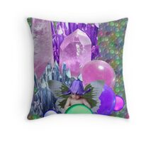 Crystal PlayPen Throw Pillow