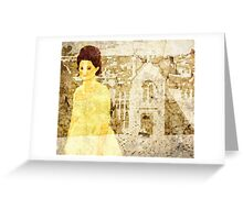 Verity Poldark Greeting Card