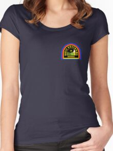 Nostromo Patch Women's Fitted Scoop T-Shirt