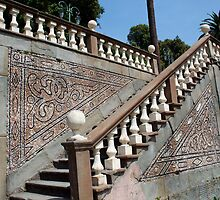 stairs to the palace Garzoli by luigi diamanti