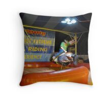Ride Him Throw Pillow