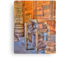 Old Cider Press Metal Print
