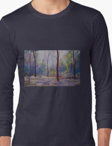 'Moody Bush Blues' Long Sleeve T-Shirt