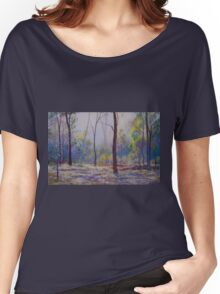'Moody Bush Blues' Women's Relaxed Fit T-Shirt
