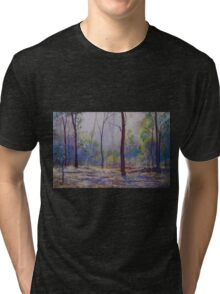'Moody Bush Blues' Tri-blend T-Shirt