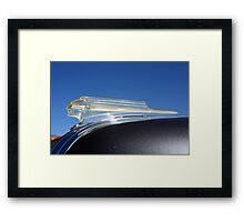 Vehicle hood ornament Framed Print