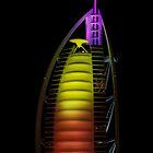 Burj Al Arab Hotel by Helen Shippey