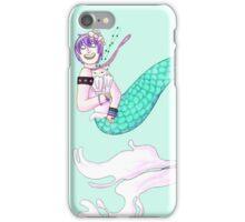 Cosmic Pastel Mermaid Queen iPhone Case/Skin