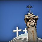 Greece - KOS - Crosses on the main square by Daniela Cifarelli