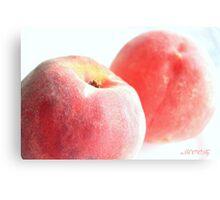 Peach 2 Canvas Print