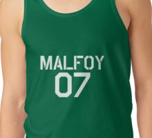 Malfoy Quidditch team Tank Top