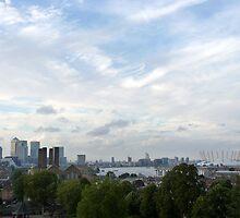 London skyline by Tommy Wright