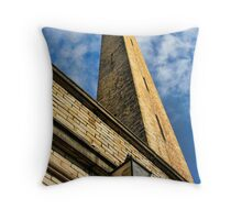 Salts Mill, Saltaire Throw Pillow