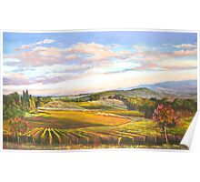 An Evening in Tuscany Poster
