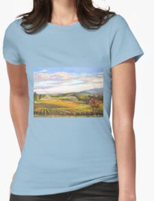 An Evening in Tuscany Womens Fitted T-Shirt