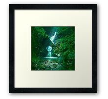 St.Nectan's Glen - Mystic Waters Framed Print