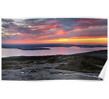 Sunrise, Cadillac Mountain Poster