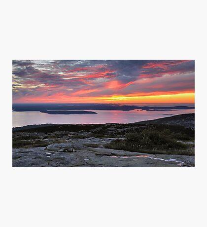 Sunrise, Cadillac Mountain Photographic Print