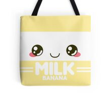 Banana Milk Carton Tote Bag