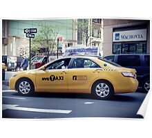 Yellow Cab Poster