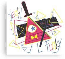 """Funky"" - Bill Canvas Print"