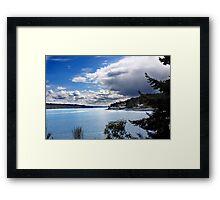 Washington State Framed Print
