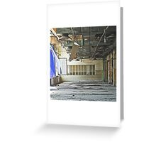 abandoned Greeting Card