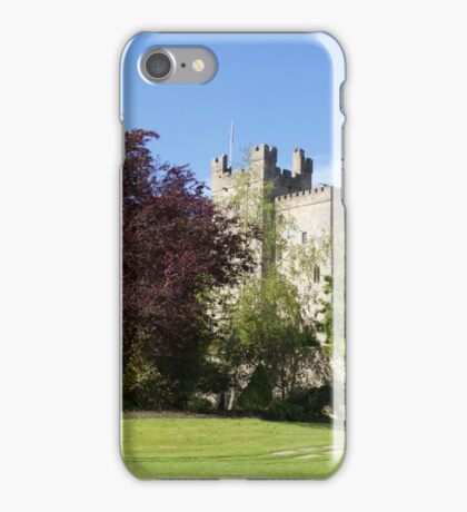 Langley Castle, Hexham, Northumberland iPhone Case/Skin