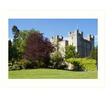 Langley Castle, Hexham, Northumberland Art Print