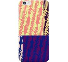 Patched Swirls iPhone Case/Skin