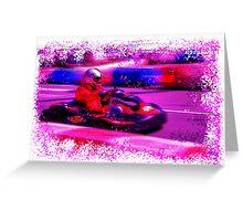 Go-Kart Greeting Card