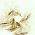Gold Wings by Deborah  Benoit