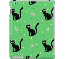 Black cats pattern iPad Case/Skin