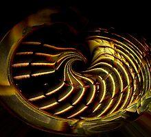 Madrigal Bowl by Sharon  Reid