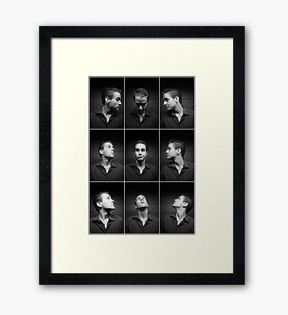 Look at Me Framed Print
