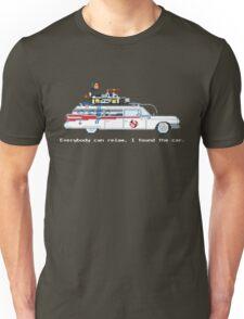 Ecto 1 - Ghostbusters Pixel Art Unisex T-Shirt