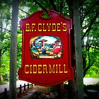 B.F. Clyde Cider Mill Sign by Debbie Robbins