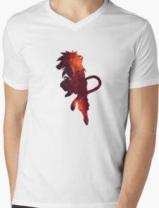 Galaxy Super Saiyan 4 Goku Mens V-Neck T-Shirt
