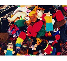 Finger puppets Photographic Print